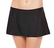 Simply Swim Solid A-Line Skirted Brief - A332376
