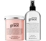 philosophy grace & love luminous body creme & spritz Auto-Delivery - A342876