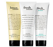 Philosophy Body Lotion Trio - A356176