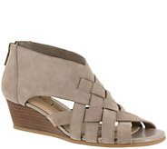 Bella Vita Leather or Suede Wedge Sandals - Isabelle - A357176
