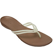 Crocs Thong Sandals - Isabella Flip - A357976