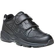 Propet Leather Walking Sneakers - Stability Walker Strap - A358776