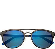 Breed Mensa Gunmetal Titanium Sunglasses w/ Polarized Lenses - A361276