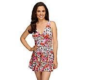Fit 4 U Cs Full Bloom Ring Swim Dress - A252577