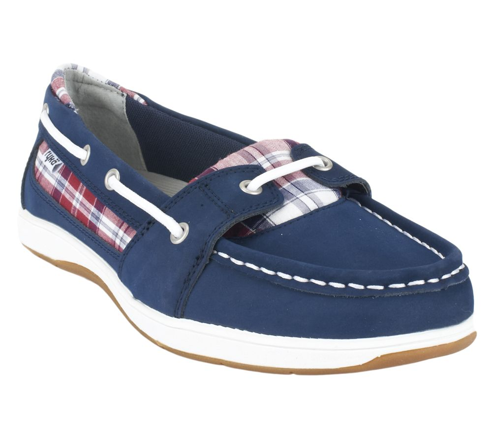 Ryka Orleans Leather Amp Fabric Boat Shoes Review Cheap