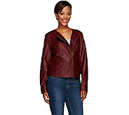 Liz Claiborne New York Heritage Collection Leather Jacket - A266177
