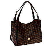 As Is Dooney & Bourke Sutton Hampshire Tote - A267277