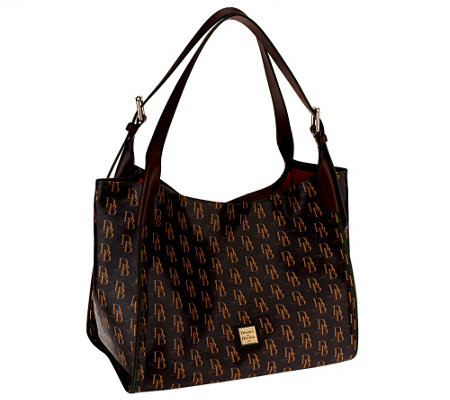 As Is Dooney & Bourke Sutton Hampshire Tote