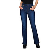 Isaac Mizrahi Live! Petite TRUE DENIM Boot Cut Jeans - A280777