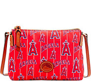Dooney & Bourke MLB Nylon Angels Crossbody Pouchette - A281577