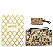 Aimee Kestenberg Pebble Leather Pouch w/ Charger - A285977