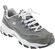 As Is Skechers DLites Lace-up Sneakers - Me Time - A294477