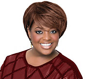 LUXHAIR by Sherri Shepherd Short Layered Bob Wig - A303877