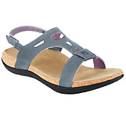 Spenco Orthotic Leather Sandals with Backstrap- Tora - A334577