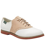 Eastland Two Tone Leather Saddle Oxfords - Sadie - A335177