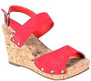 Nomad Cork Wedge Sandals - Sonoma - A336577