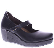 Spring Step LArtiste Leather Wedges - Brentwood - A338177