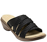 Spenco Leather Slide Sandals - Virginia - A340877