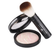 LauraGeller Balance N Brighten Baked Foundation .32oz & Brush