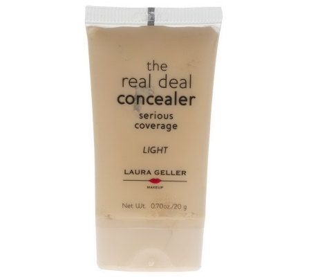 Laura Geller Real Deal Full-Coverage Cream Concealer - Page 1 ...