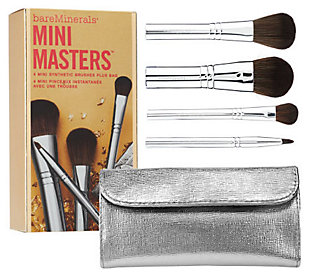 bareMinerals Mini Masters 4-piece Brush Collection with Bag