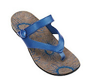 Vionic Orthotic Thong Sandals - Cocoa - A230078