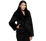 Dennis Basso Platinum Collection Faux Fur Chubby Coat - A239478