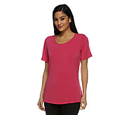 Joan Rivers Luxe Knit Tee Shirt - A253278