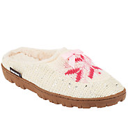 MUK LUKS Slipper Clogs with Aloe Vera Infused Faux Fur Lining - A257878