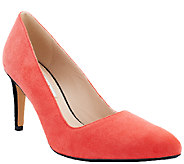 Clarks Narrative Leather or Suede Pumps Dalhart Sorbet - A261978