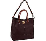 As Is Dooney & Bourke Pebble Leather Chelsea Shopper - A264178
