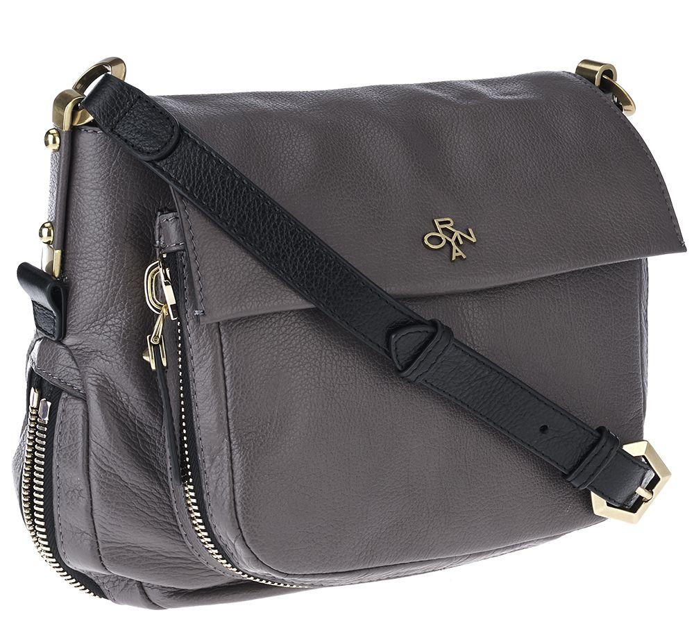 orYANY Italian Grain Leather Shoulder Bag - Corrine - Page 1 — QVC.com