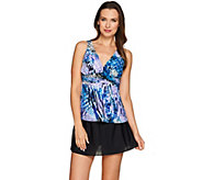 DreamShaper by Miraclesuit Katie Tankini Swimsuit with Skirted Bottom - A274878