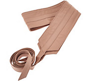 G.I.L.I Leather Obi Wrap Belt - A276078