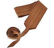 G.I.L.I. Leather Obi Wrap Belt - A276078