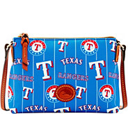 Dooney & Bourke MLB Nylon Rangers Crossbody Pouchette - A281578