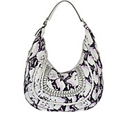 As Is Aimee Kestenberg Pebble Leather Hobo - Genny - A283378