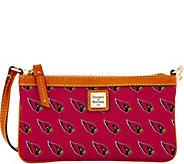 Dooney & Bourke NFL Cardinals Large Slim Wristlet - A285778