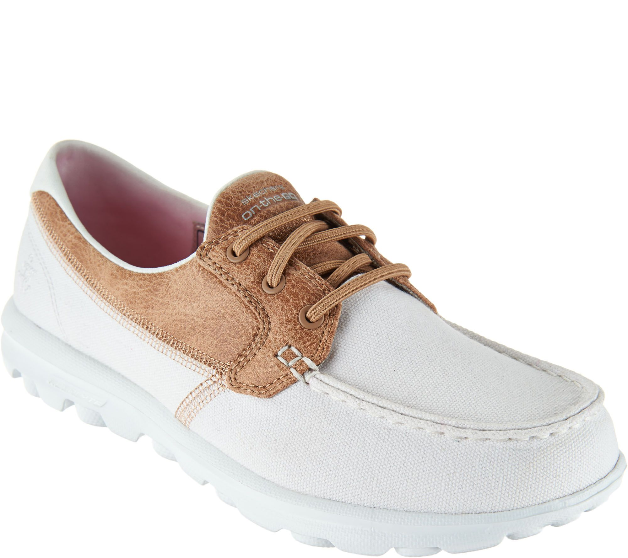 skechers yoga mat shoes. skechers on-the-go boat shoes with goga mat - seaside a287178 yoga