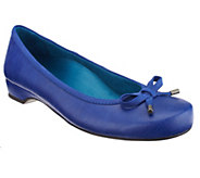 As Is Vionic w/ Orthaheel Olivia Orthotic Flats with Bow Details - A298578