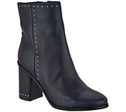 Marc Fisher Studded Leather Ankle Boots - Piazza - A299678