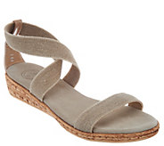 Charleston Shoe Co. Multi Strap Wedge Sandals - Easton - A303478