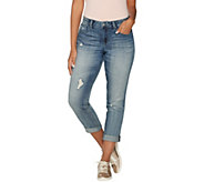 Laurie Felt Classic Denim Boyfriend Crop Jeans - A305678