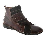 Spring Step Groove Ankle Boots - A321778