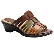 Softspots Hilary Slide Wedge Sandals - A327578