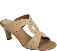 A2 by Aerosoles Heel Rest Slide Sandals - Powssibility - A357678