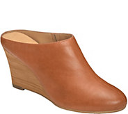 Aerosoles Heel Rest Wedge Mules - Art Class - A359078