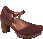 Dansko Leather Clog Mary Janes - Dorothy - A360878