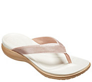 Crocs Flip Sandals - Capri V Sequin - A412378