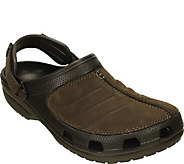 Crocs Mens Leather Clogs - Yukon Mesa - A412478